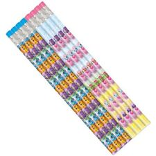 HATCHIMALS PENCILS (8) ~ Birthday Party Supplies Favors Stationery Pink Purple