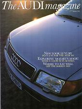 Audi Magazine Summer 1991 UK Market Brochure 100 Coupe S2 Wanderer W25K