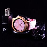 Samsung Galaxy watch smartwatch Rose Gold SM-R810 42mm SM-R810NZDAXAR