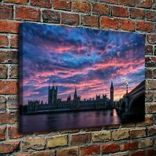 "16""x24""Big ben Scenery HD Canvas prints Painting Home decor Picture Wall art"