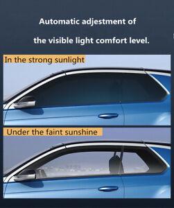 A4 30%-65%VLT Photochromic Film Car House Smart Window Tint Signal Magnetron