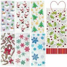 Carta da regalo e accessori multicolore natale