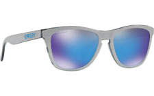 Oakley FROGSKINS Limited Edition  Checkbox Silver / PRIZM Sapphire  OO9013-CO