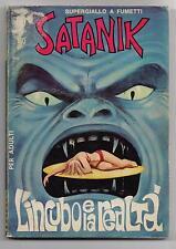 SATANIK N. 69 L' INCUBO E LA REALTA' editoriale corno 1967