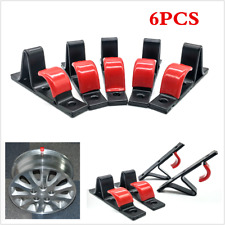 6XTire Hub Hook Wheel Stand Holder Wall Mounted Car Wheel Hub Hanging Boss Hook