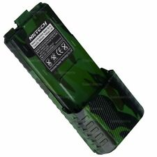 NKTECH 3800mAh Extended Battery For BaoFeng UV-5R Plus V2+ BF-F8HP TYT TH-F8 CAM