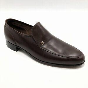 ✅💟✅$ Men's Florsheim Imperial Loafers Dress Shoes 9 D Brown Leather Vintage