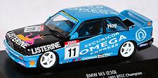 BMW M3 E30 LISTERINE #11 BTCC Champion 1991W. hoy 1:43