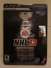 New! NHL 13: Stanley Cup Collector's Edition (Playstation 3) -  U.S. Version!