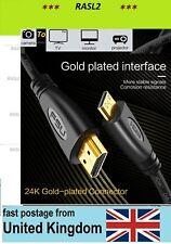 Cámara 1.5M para HD 4K HDMI TV, cable del monitor para Cámara Digital Canon Powershot