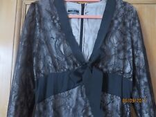 Malene Birger Evening/Cocktail Lace Dress Silk Size 10 Small mended faults