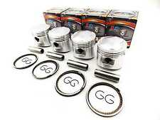 HONDA CB750F DOHC 79-82 1.00mm O/S FORSETI PISTON SET 63.00mm RINGS PIN CLIPS