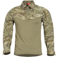 Pentagon Ranger Tac-Fresh Shirt Cadet Military Long Sleeve Army Duty PentaCamo
