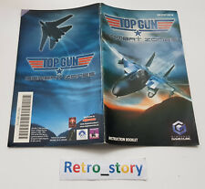 Nintendo GameCube Top Gun : Combat Zones Notice / Instruction Manual