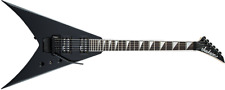 Jackson JS Series JS32 King V Gloss Black Electric Guitar with Floyd Rose - Demo