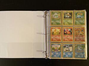 Pokemon 100% Complete 152/150 Set - Base - Jungle - Fossil - Original Cards