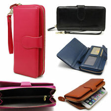 Leather Wristlet Coins & Money Wallets for Women