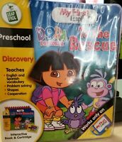 LeapFrog My First LeapPad Dora the Explorer To the Rescue, Book & Cartridge-