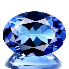 0.83ct WOW IF-FLAWLESS RARE NATURAL D BLOCK BEST BLUE TANZANITE EARTH MINED GEM!