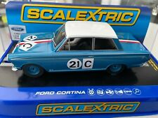 SCALEXTRIC C3670 FORD CORTINA GT 1964 BATHURST  NEW