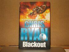 Chris Ryan , BLACKOUT   SIGNED
