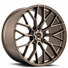 "4ea 22"" Staggered Savini Wheels SV-F2 Matte Bronze Rims (S7)"