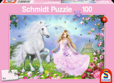 The Unicorn Princess: Children's Schmidt Fantasy Jigsaw Puzzle 100 pieces Ages 6