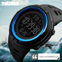 SKMEI Watch Men Military Watches Waterproof Sport Outdoor LED Digital Wristwatch