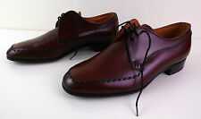 Loake Leather Lace Up Derby Style Shoes Warm Fox Red 7.5UK 41EU