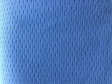 blue textured soft Lycra fabric remnant 4-way stretch active/dance/swimwear 321