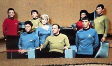 "Star Trek 1960's The Bridge (Flight Deck) Crew Tabletop Display Standee 10.5"" L"