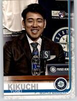 2019 Topps Series 2 SP Photo Variation #632 YUSEI KIKUCHI Mariners Rookie