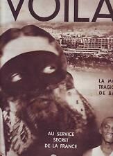 1932 REPORTAGES PHOTOS REVUE VOILA n°69 LA TRAGEDIE DE BATA LES MINES ROUGE BOXE