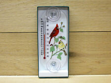 Aspects Original Window Mount Outdoor Thermometer Cardinal Pair #062