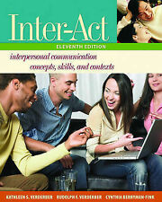 Inter-act: Includes Inter-action! CD by Kathleen S. Verderber, Cynthia...