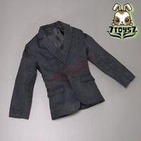 Wild Toys 1/6 Black Suit Set_ Black Blazer / Suit _Formal Dress Fashion WT009D