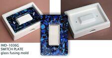 IMD-1036G ROCKER SWITCHPLATE - glass fusing mold/ NEW