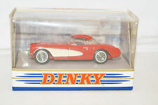 DINKY COLLECTION dy-23 CHEVROLET CORVETTE 1956 rouge 1:43 MATCHBOX