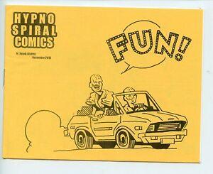 Hypno Spiral Comics FUN! Jacob Alvarez mini comic 2015 VF