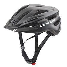 Cratoni - Pacer+ - Farbe: black matt - Größe: M-L (58 - 62 cm)