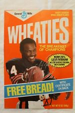 Walter Payton Wheaties Box Rare 12oz Bread Cover AUTOGRAPH PSA DNA Guarantee