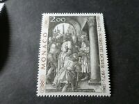 MONACO 1972, timbre 876 TABLEAU DURER, PAINTING, neuf**, VF MNH