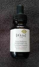 A'kin Pure Radiance Rosehip Oil - Certified Organic