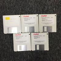 """Chipsoft Version 9.01 Tax Software For 1991 3.5 3 1/2"""" Floppy Disk Set"""