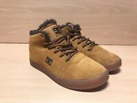DC Shoes Youth Crisis High WNT - Tan / Brown Trainers Sneaker Shoe Skate Size 13
