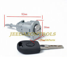 Door Lock Cylinder Key Front Left fit for VW Golf Jetta 1997-2005 Passat 2000-05