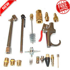 18 Piece Air Compressor Accessory Kit Tool Blow Gun for Standard 3/8
