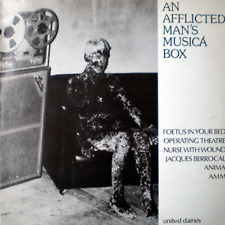 An Afflicted Man's Musica Box LP Vinyl RECORD 1982 Industrial Avant Garde NWW