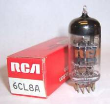 NEW IN BOX RCA 6CL8A TRIODE / TETRODE TUBE / VALVE