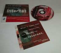 Sega Dreamcast AT&T Worldnet PC CD-Rom Service Internet Promo Disc Complete CIB